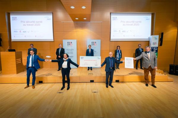 Institut luxembourgeois de la Qualité de Vie au Travail primé pour son projet « Qualité de Vie au Travail : tous acteurs » © Pierre Guersing – Chambre de Commerce