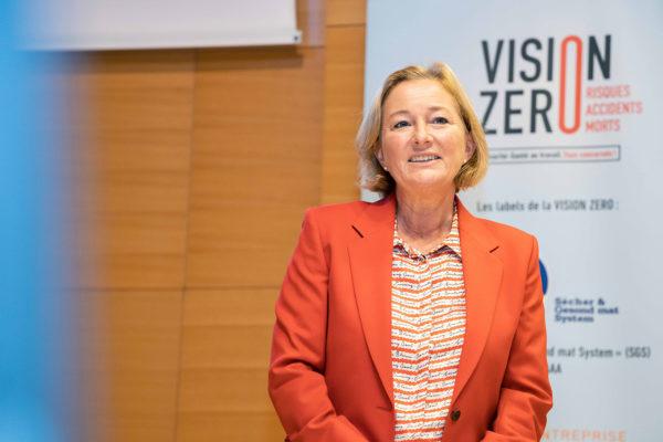 Madame Paulette LENERT, Ministre de la Santé © Pierre Guersing – Chambre de Commerce