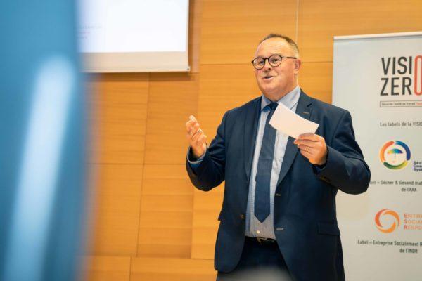 Monsieur Romain SCHNEIDER, Ministre de la Sécurité Sociale © Pierre Guersing